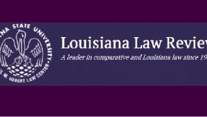 Louisiana Law Review