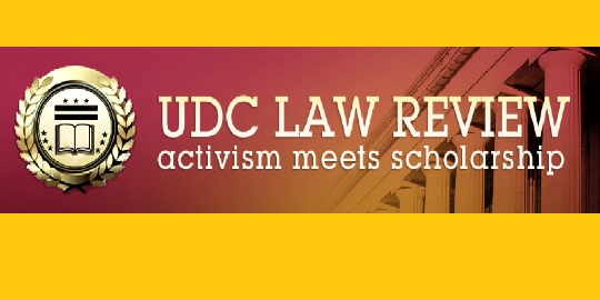 UDC Law Review