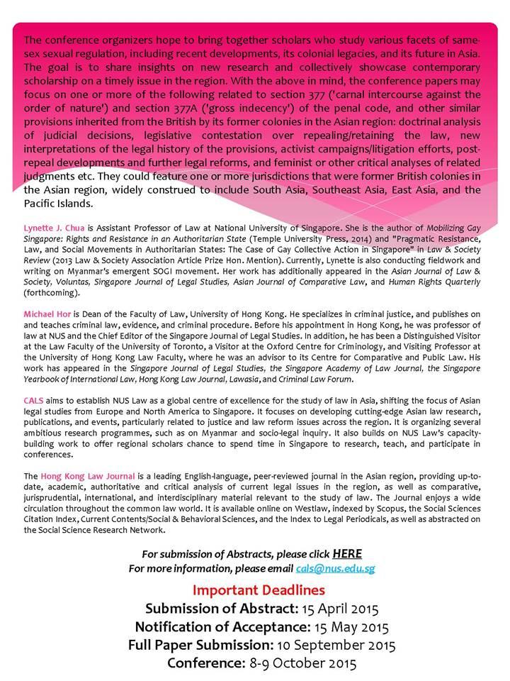 NUS British Sexual Regulation conf flyer p 2