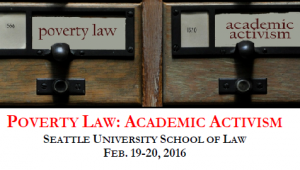 Poverty Law - Academic Activism