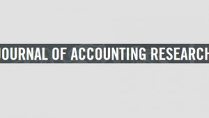 Journal of Accounting Research JAR Chicago Booth