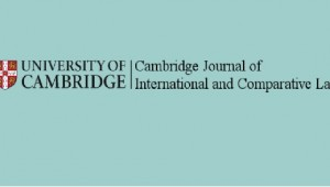 Cambridge Journal of International and Comparative Law
