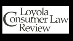 Loyola Consumer Law Review