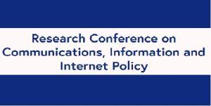 TPRC45 - Communications, Information, Internet Policy @ George Mason U.   Virginia   United States