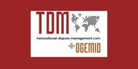 Transnational Dispute Management logo
