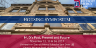 Detroit Mercy - HUD Conference