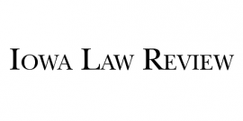 Iowa Law Review