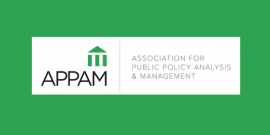 Association for Public Policy Analysis & Management (APPAM)