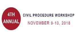 annual civil procedure workshop logo