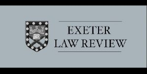 CFP Deadline: Exeter Law Review