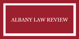 albany law review logo