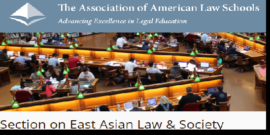 Banner for the AALS East Asian Law and Society Section