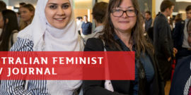 Australian Feminist Law Journal banner
