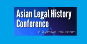 CFP & Conference: Asian Legal History @ Hue University